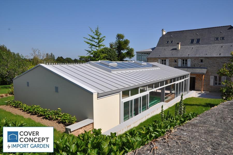 Les bâtiments de France acceptent les vérandas pour piscine Cover Concept