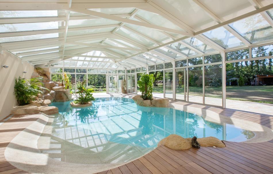Design de piscine intérieure