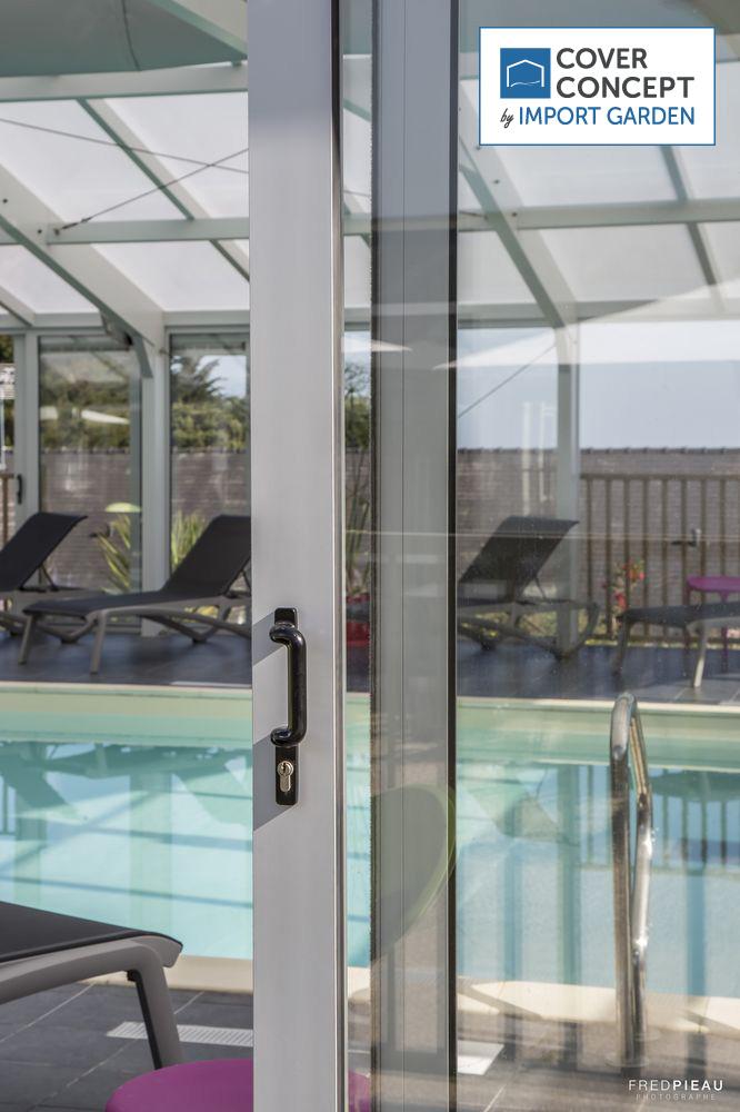 La sécurité des portes et barrières des vérandas pour piscine Cover Concept