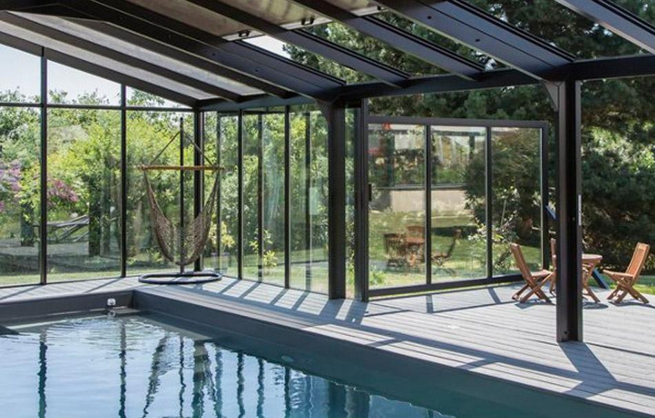 Du soleil toute l'année avec nos vérandas pour piscine