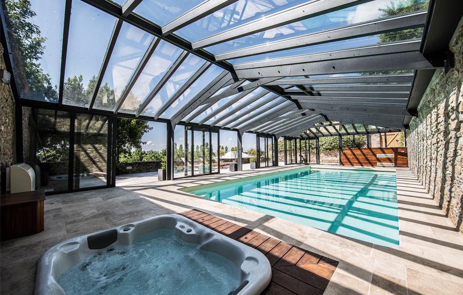Une toiture en verre pour plus de luminosité