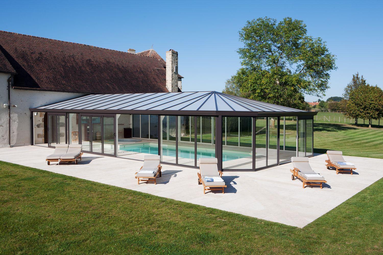 Véranda pour piscine Cover Concept : qualité esthétique