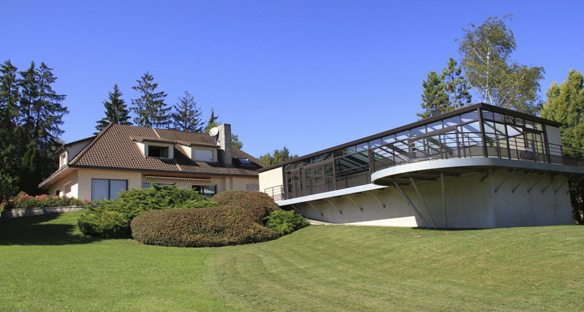 Véranda pour piscine Cover Concept dans le Jura