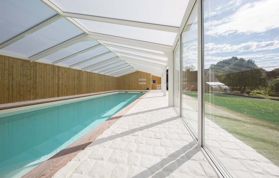 Véranda piscine ouverte ou fermée