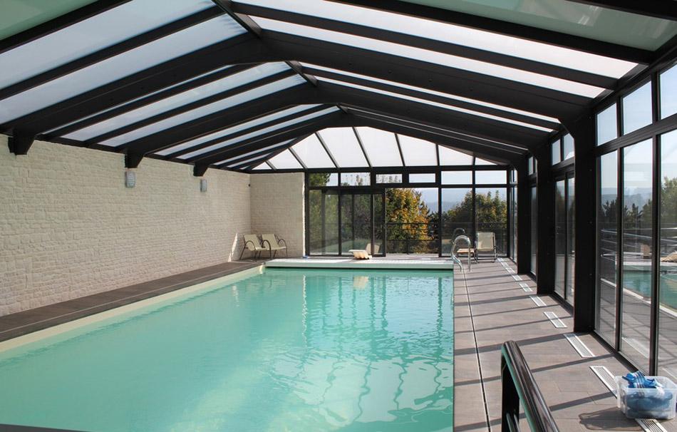 Véranda pour piscine Cover Concept by Import Garden : reportage client