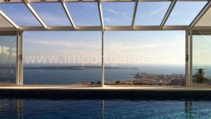 Véranda pour piscine : une réelle plus-value immobilière