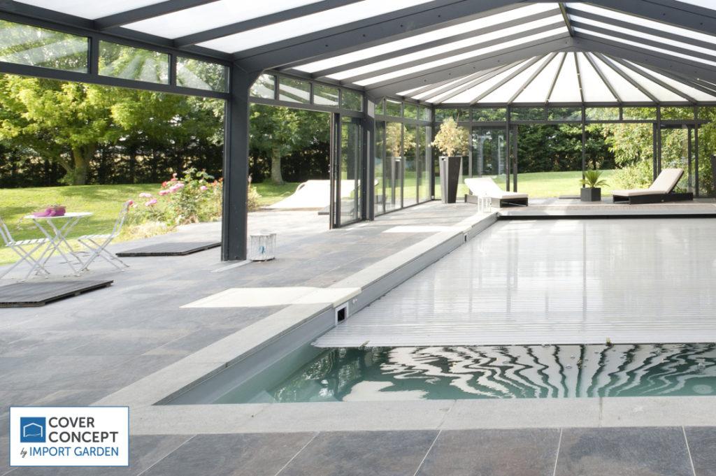 Le volet à lamelles : pour couvrir sa piscine de manière sécurisée