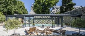 Véranda avec toiture en double vitrage Cover Concept