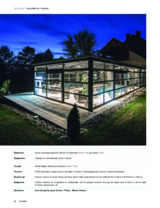 Véranda piscine Cover Concept dans Côté Piscine