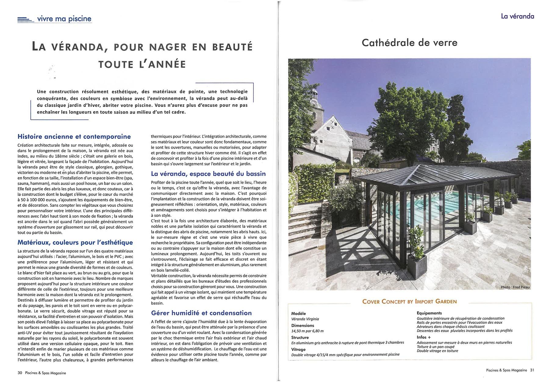 Magazine Piscines et Spas