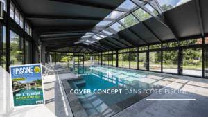Cover Concept dans le magazine Côté Piscine