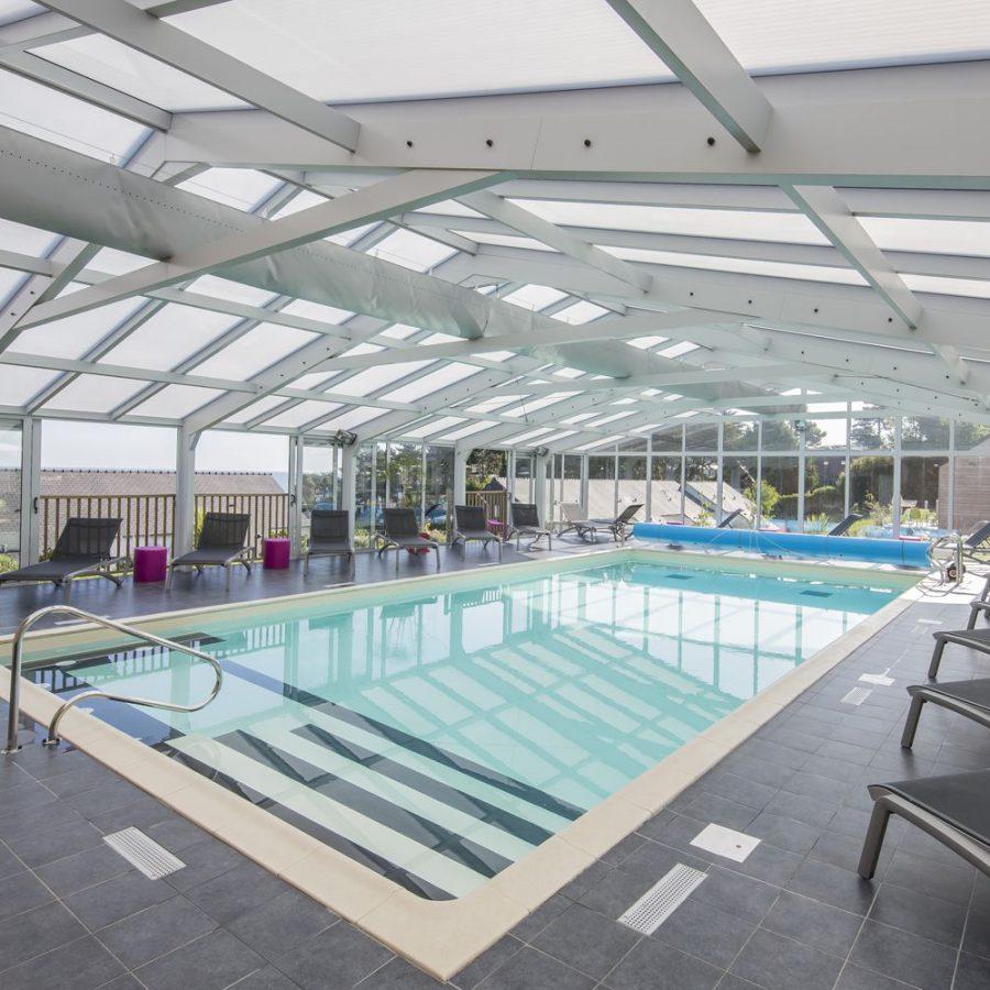 Grande véranda pour piscine en aluminium de centre de loisirs