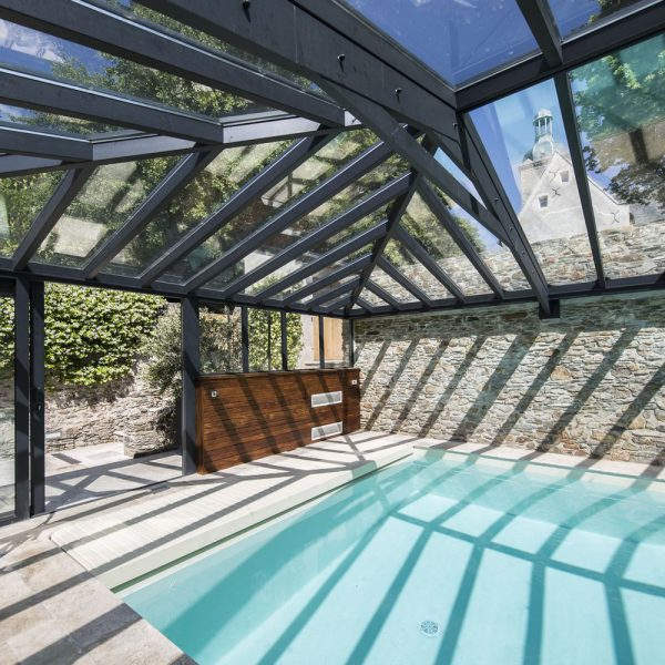 Luminosité et transparence avec le double vitrage en toiture