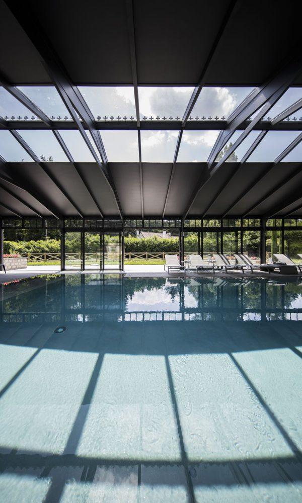 Verrière de véranda pour piscine